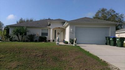 North Port Single Family Home For Sale: 2729 Caladium Road