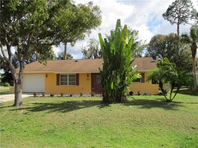 Port Charlotte Single Family Home For Sale: 2266 Lakeshore Circle