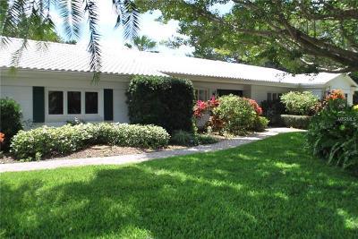 Sarasota Single Family Home For Sale: 210 Seagull Lane