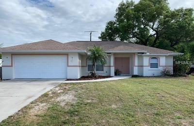 Venice Single Family Home For Sale: 295 Coral Road
