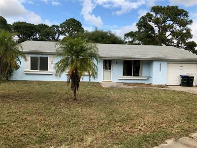North Port Single Family Home For Sale: 7138 Natchez Court