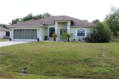 North Port Single Family Home For Sale: 6095 Lenape Lane