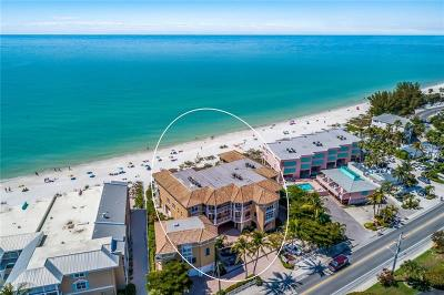 Bradenton Beach Condo For Sale: 1900 Gulf Drive N #12