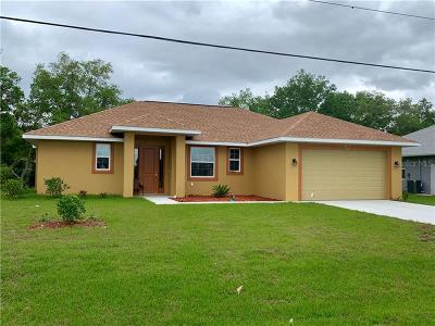 Punta Gorda Single Family Home For Sale: 293 Seasons Drive