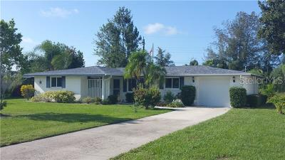 Sarasota FL Single Family Home For Sale: $269,500