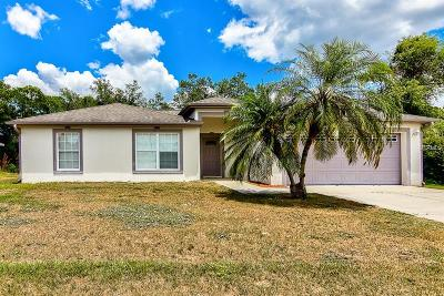 North Port Single Family Home For Sale: 2718 Chipley Avenue