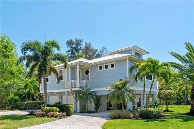 Longboat Key FL Single Family Home For Sale: $1,140,000