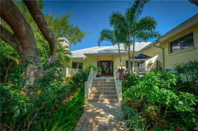 Longboa, Longboat, Longboat Key, Longboat Point Single Family Home For Sale: 3322 Bayou Road