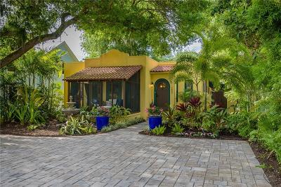 Sarasota Single Family Home For Sale: 1654 Prospect Street