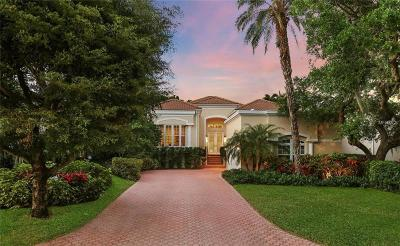 Longboat Key Single Family Home For Sale: 3524 Fair Oaks Lane