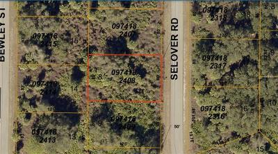 Residential Lots & Land For Sale: Selover Road