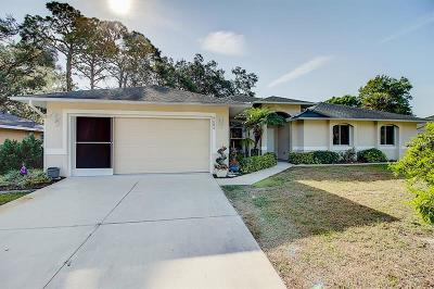 North Port Single Family Home Pending: 4684 Alfa Terrace