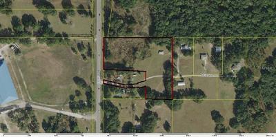 Wildwood Residential Lots & Land For Sale: 0 N Us 301