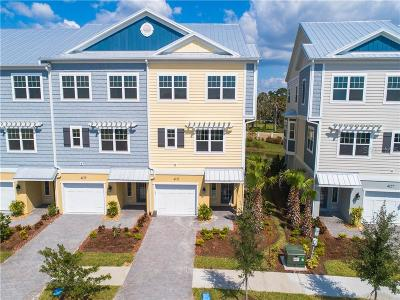 Tampa Townhouse For Sale: 4133 Rocky Shores Drive