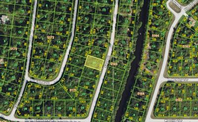 Port Charlotte Sec 052, Port Charlotte Sec 053, Port Charlotte Sec 054, Port Charlotte Sec 056, Port Charlotte Sec 060, Port Charlotte Sec 063, Port Charlotte Sec 095 Residential Lots & Land For Sale: 7405 Sioux Street