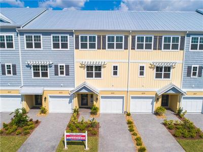 Tampa Townhouse For Sale: 4139 Rocky Shores Drive