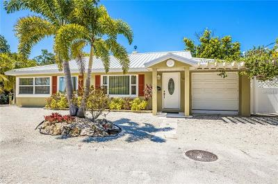 Bradenton Beach Single Family Home For Sale: 1910 Bay Drive N