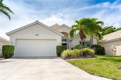 Venice Single Family Home For Sale: 107 Braemar Avenue
