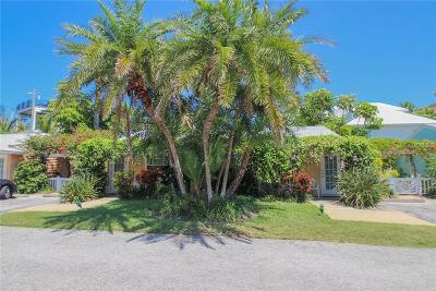 Bradenton Beach Multi Family Home For Sale: 1603 Gulf Drive N #3 & 4