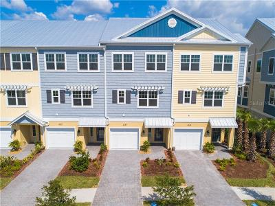 Tampa Townhouse For Sale: 4135 Rocky Shores Drive