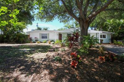 Sarasota Single Family Home For Sale: 2650 Hyde Park Street