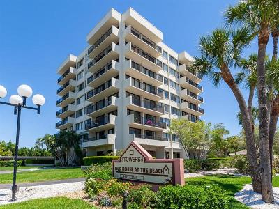 Sarasota Condo For Sale: 1055 Beach Road #B-702