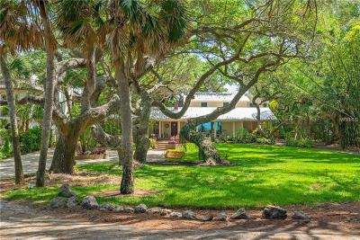 Nokomis, Osprey Single Family Home For Sale: 1208 N Casey Key Road