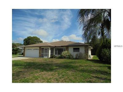 North Port Single Family Home Pending