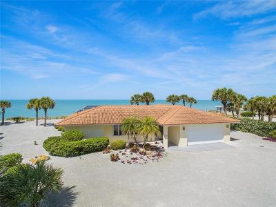 Nokomis, Osprey Single Family Home For Sale: 3743 Casey Key Road