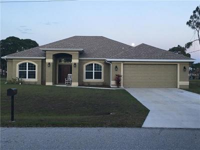 Rotonda West Single Family Home For Sale: 283 Mariner Lane
