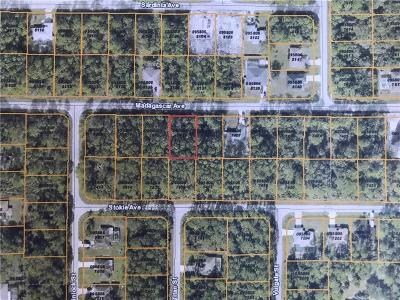 North Port Residential Lots & Land For Sale: Madagascar Avenue