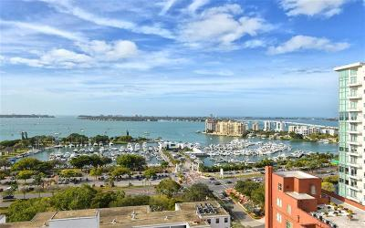 Sarasota, Naples Condo For Sale: 1350 Main Street #1706