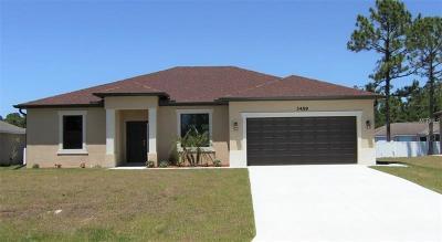 North Port Single Family Home For Sale: 3459 Cincinnati Street