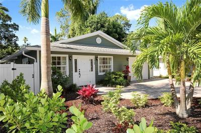 Sarasota Single Family Home For Sale: 1958 Hyde Park Street