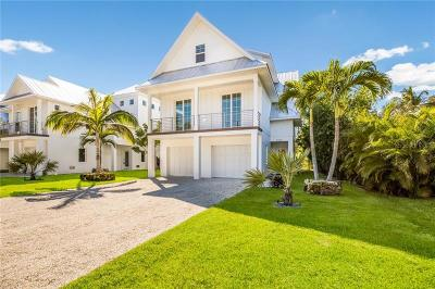 Longboat Key Single Family Home For Sale: 6965 Longboat Drive S