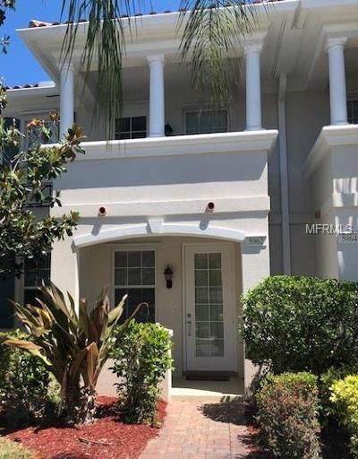Sarasota Townhouse For Sale: 5962 Giardino Lane