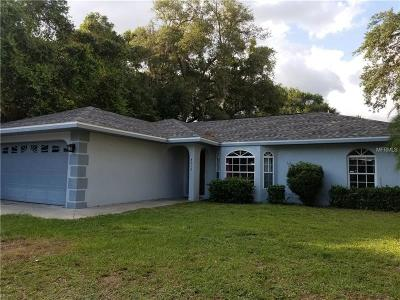 North Port Single Family Home For Sale: 4016 Bula Lane
