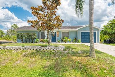 North Port Single Family Home For Sale: 2766 Duar Terrace