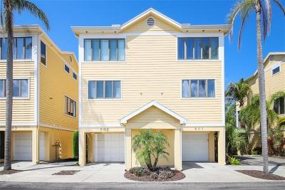 Longboat Key Townhouse For Sale: 605 Cedars Court
