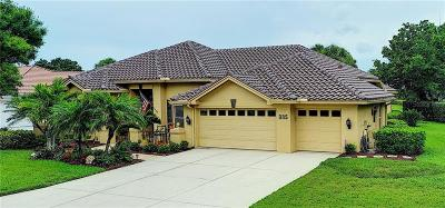 Venice Single Family Home For Sale: 335 Venice Golf Club Drive
