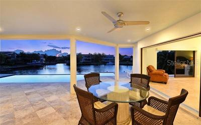 Longboat Key Single Family Home For Sale: 521 Harbor Point Road