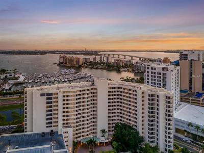 Sarasota Rental For Rent: 1255 N Gulfstream Avenue #607