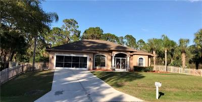 North Port Single Family Home For Sale: 1632 Music Lane