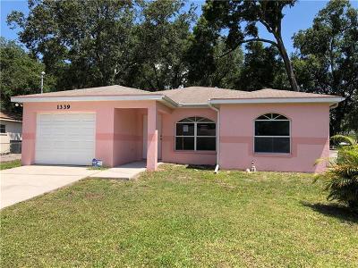 Bradenton Single Family Home For Sale: 1339 30th Avenue E