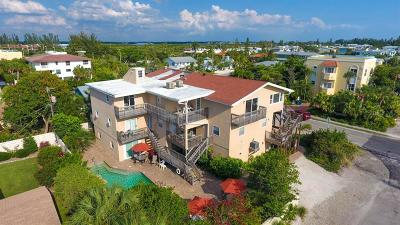 Holmes Beach Multi Family Home For Sale: 3707 Gulf Drive #A, B, C,