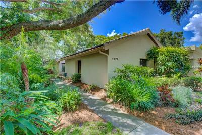 Sarasota Villa For Sale: 4520 Ascot Circle N