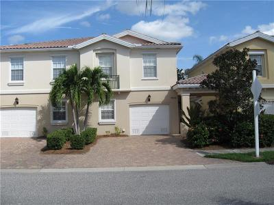 Sarasota Townhouse For Sale: 7620 Bergamo Avenue