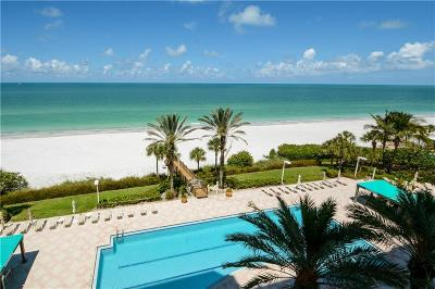 Lido Key Condo For Sale: 1800 Benjamin Franklin Drive #A505