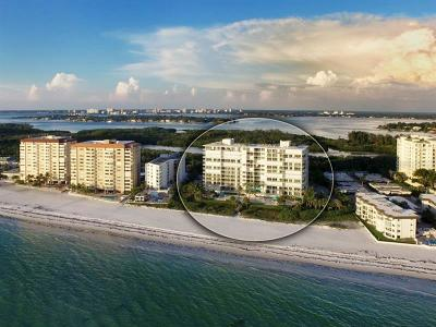 Lido Key Condo For Sale: 1800 Benjamin Franklin Drive #A603