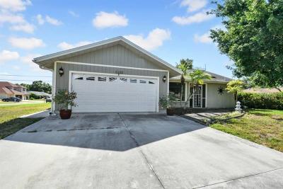 Venice Single Family Home Pending: 3132 Lobelia Road